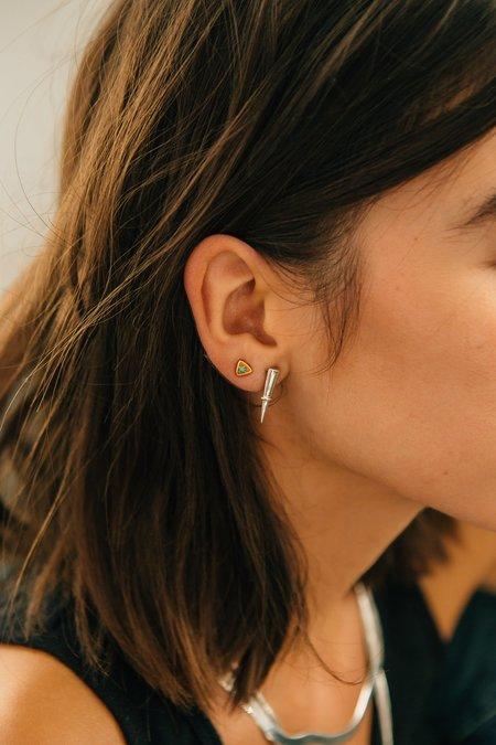 Sierra Winter Jewelry Stargazer Earrings - Turquoise/Gold Vermeil