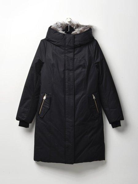 Mackage HARLOWE-X coat - BLACK/SILVER