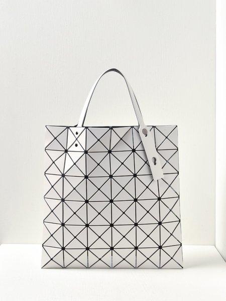 Bao Bao Issey Miyake Lucent Matte Bag - Off White