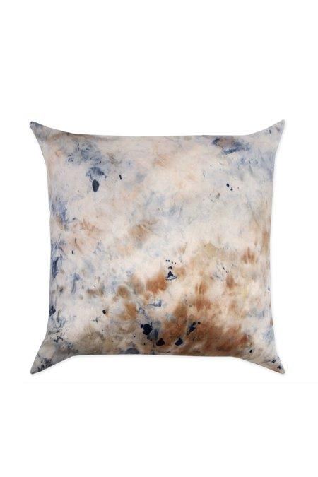 KES Sustainable Silk/Linen Kapok Pillow - Organic Soda Madder