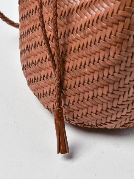 Dragon Pompom Double Jump Bag - Tan