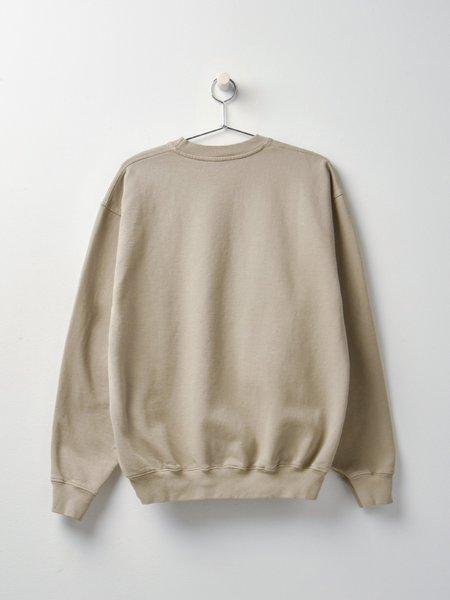 Sporty & Rich SRHWC Crewneck sweater - Elephant/White