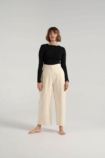 Studio Nicholson Dordini Pants - Cream
