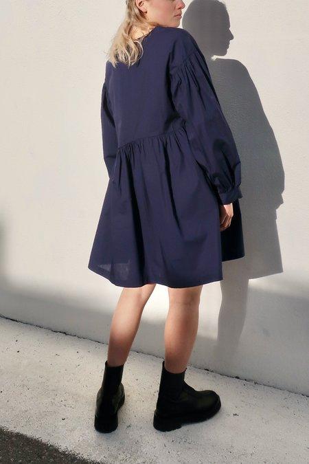 Et Tigre Jayme Short Dress - Navy