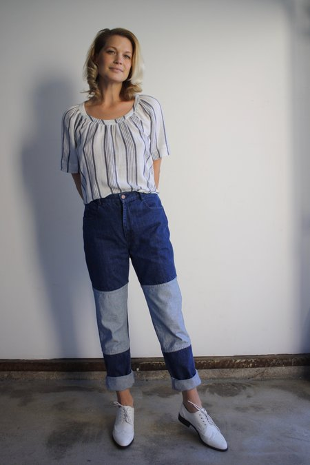 Carleen Two Tone Jeans