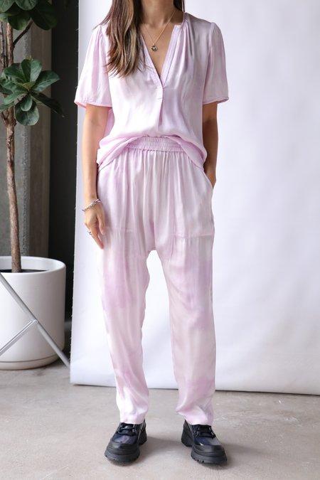 Raquel Allegra Lilakoi Blouse - Lavender Tie Dye