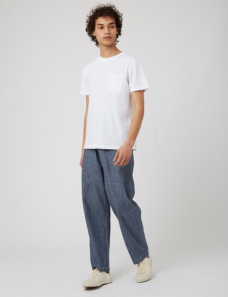 Universal Works Bakers Pant - blue