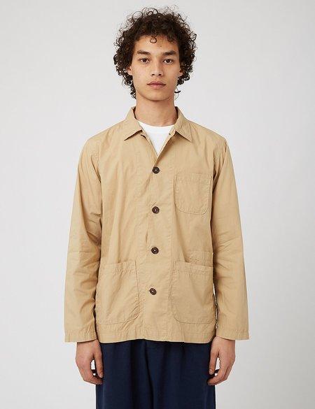Universal Works Bakers Overshirt jacket - Beige