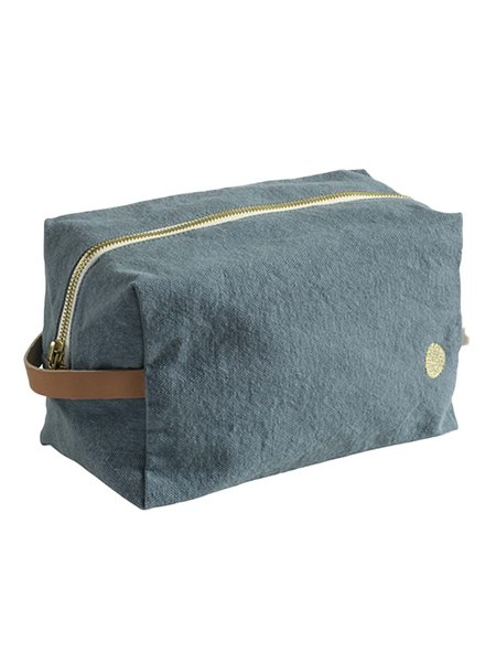 La Cerise Sur Le Gateau Medium Pouch Cube - Iona Sardine