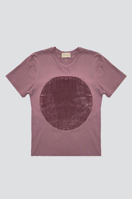 Correll Correll Velvet Circle T-shirt - Rose