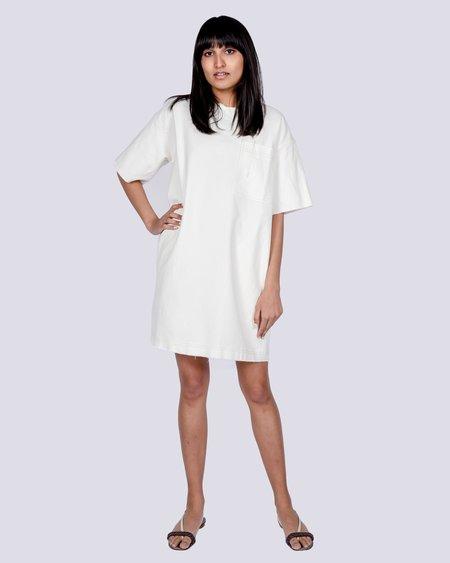 L.F.Markey Eli Dress - White Denim