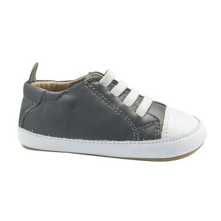 kids Old Soles Baby Eazy Jogger Shoes - Grey