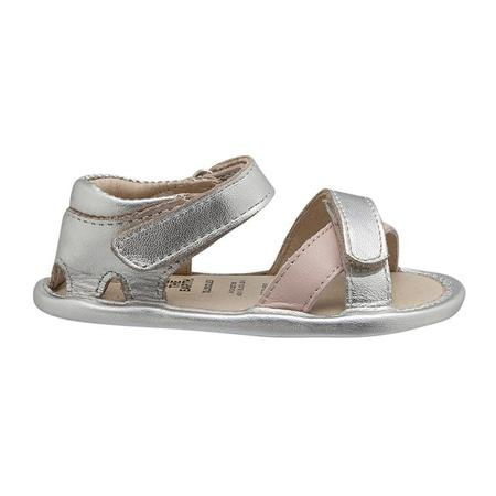 kids Old Soles Baby Floss Sandals - Silver