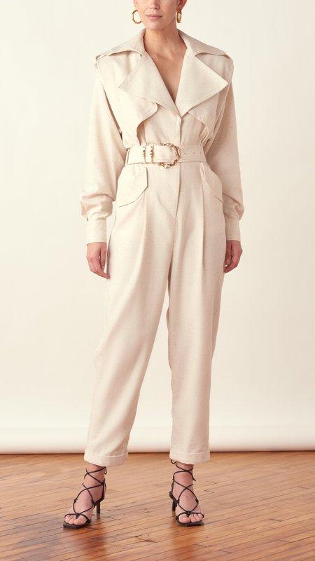 acler Hanbury Pantsuit - Natural