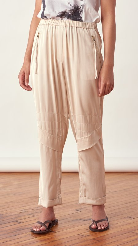 Dorothee Schumacher Slouchy Cool Pants - Sesame