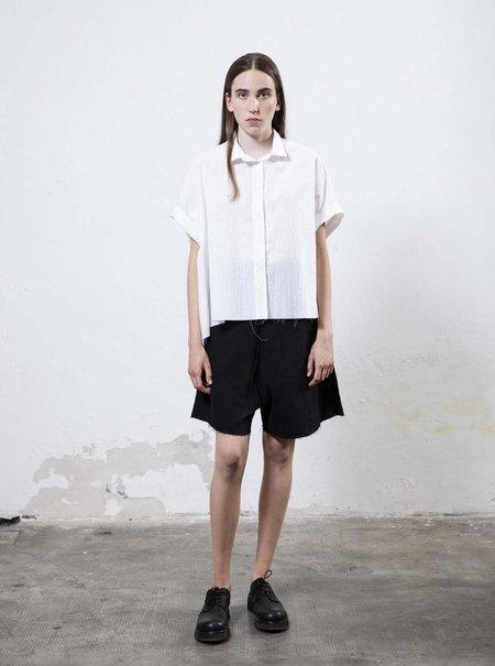 Serien°umerica Boxy Shirt - White