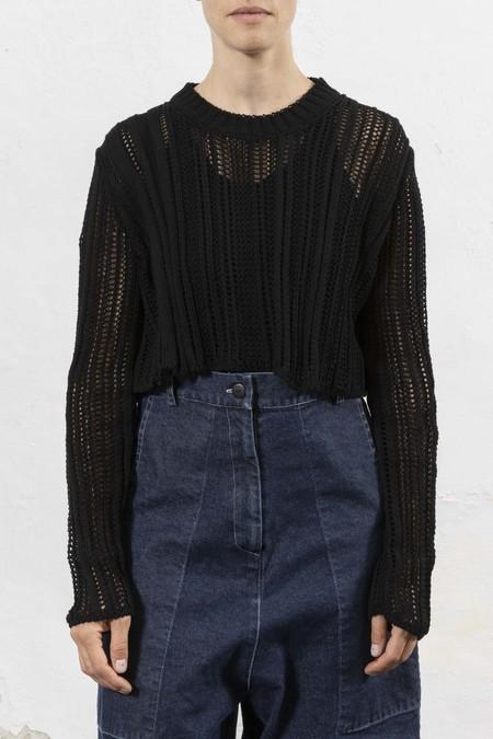 Serien°umerica Pullover - Black