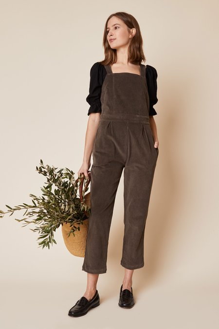 Whimsy + Row Billie Overall - Grey Cord