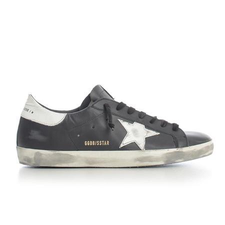 Golden Goose Sneakers Superstar - Black/White Star