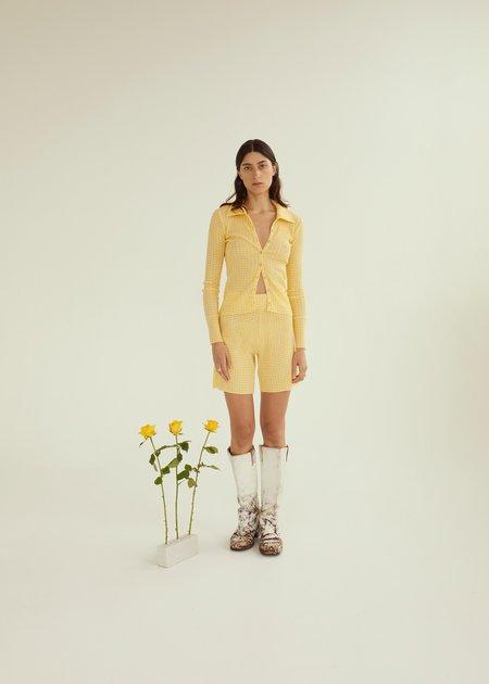 permanent vacation Ritual Shorts - Yellow