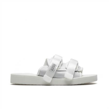 UNISEX SUICOKE Moto CAB slippers - white
