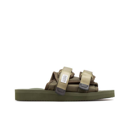 UNISEX SUICOKE Moto CAB slippers - Green