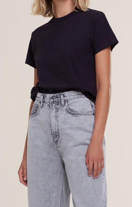 AGOLDE Rena Crew Neck T Shirt - Black