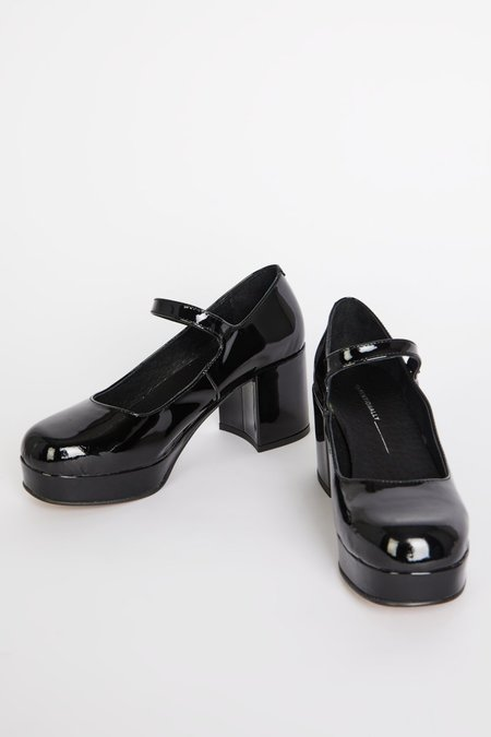 """""""INTENTIONALLY __________."""" MIKA shoes - Black Patent"""