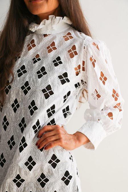 [Pre-loved] Sandro Open Lace Mini Dress