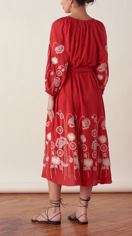 The Great. The Derby Dress - Red