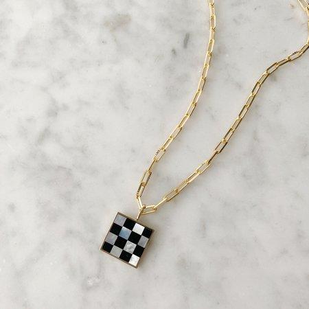 Tarin Thomas Samuel Necklace - Checkered