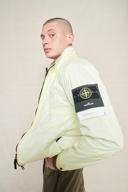 Stone Island Membrana Jacket - Lemon