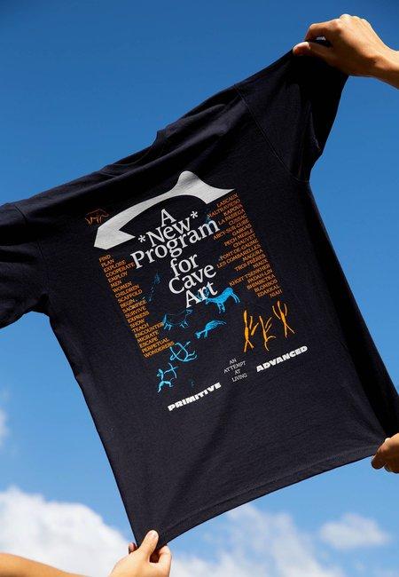 AN ATTEMPT AT LIVING Cave Art T-Shirt - black