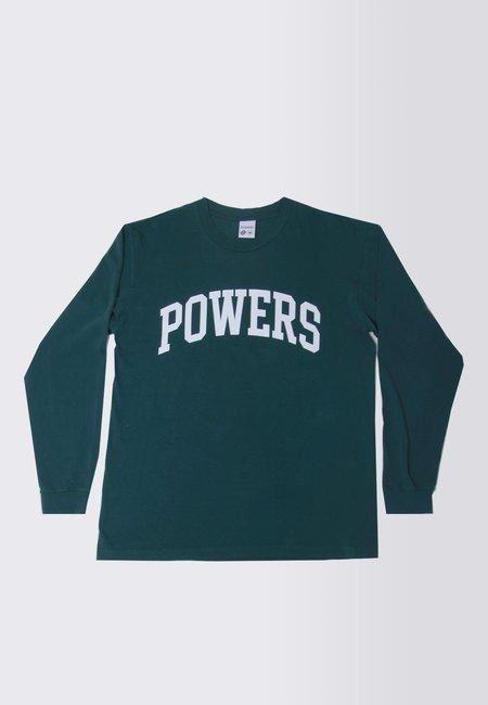 Powers Arch long Sleeve T-Shirt - dark green