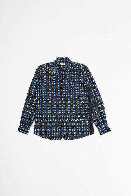 Dries Van Noten Curle shirt - blue print
