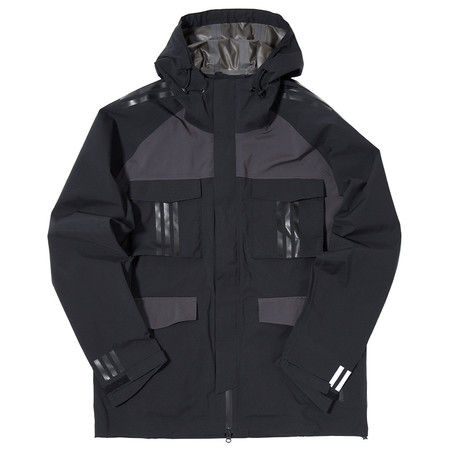 ADIDAS ORIGINALS BY WHITE MOUNTAINEERING SHELL GORE-TEX JACKET - BLACK