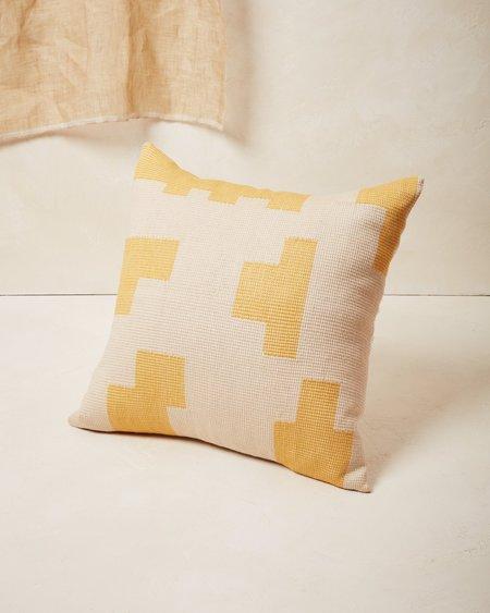 Minna Goods Puzzle Pillow - Lemon