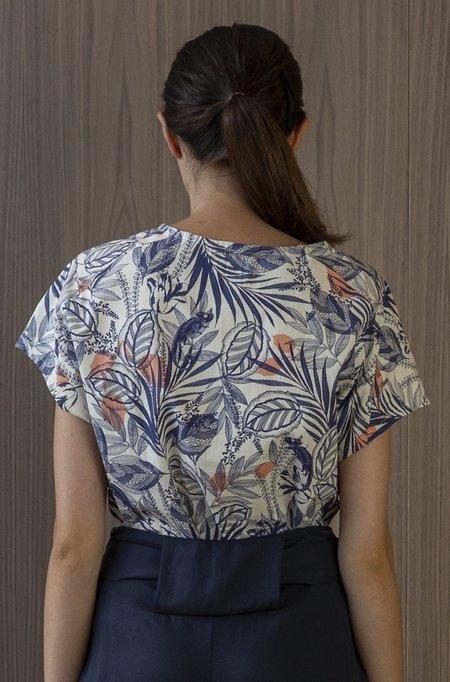 Jude Clothing Tofino Top - Chameleon Print