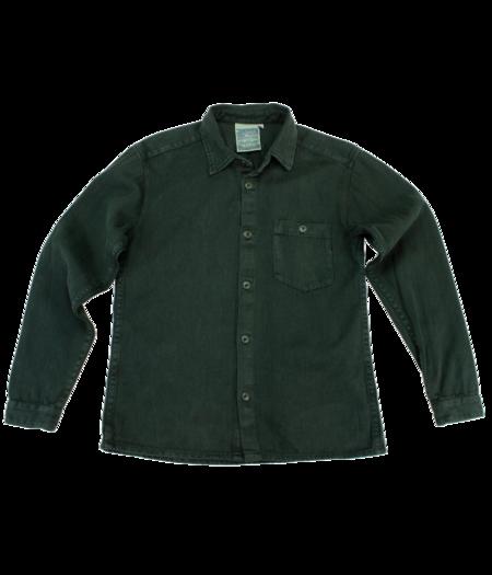 Unisex Jungmaven Topanga Shirt - Forest Green