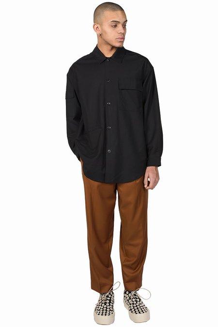 Lownn Utility Long Shirt - Black
