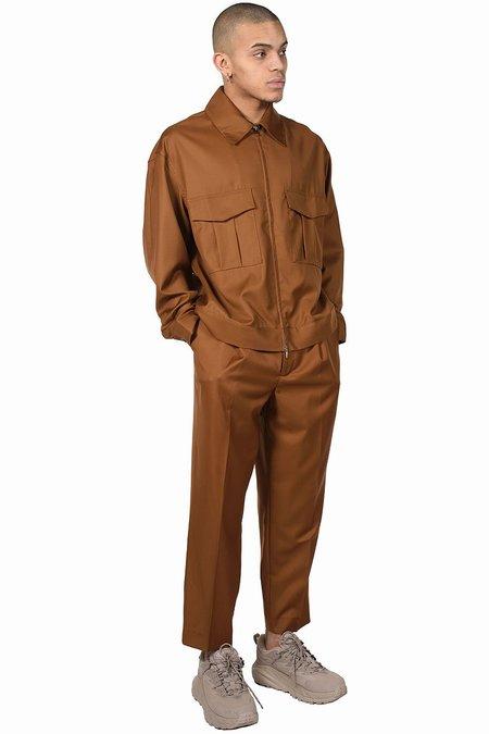 Lownn Utility Jacket - Brown Tobacco