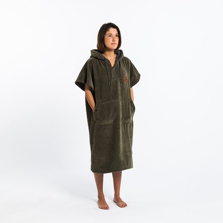 Slowtide The Digs Changing Poncho - Green