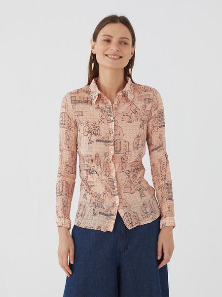 Nice Things Nicehaus Print Shirt - multi
