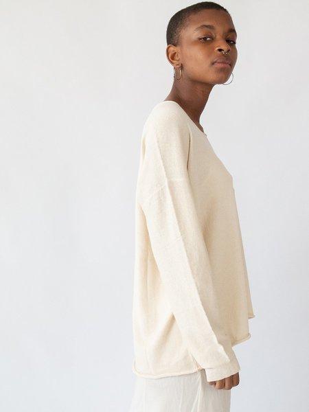Lauren Manoogian U Tee - Raw White