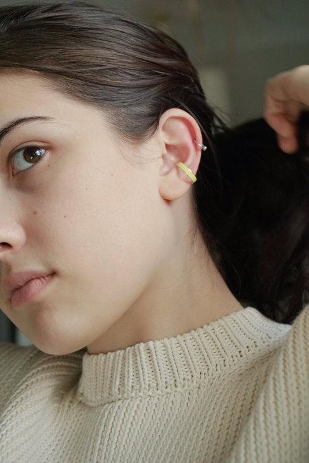 BEATRIZ PALACIOS EAR CUFF earrings - sterling silver