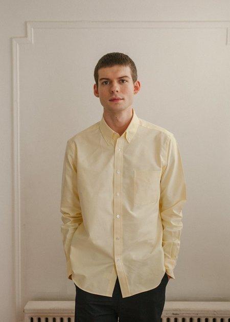 Steven Alan Classic Collegiate Shirt - Butter