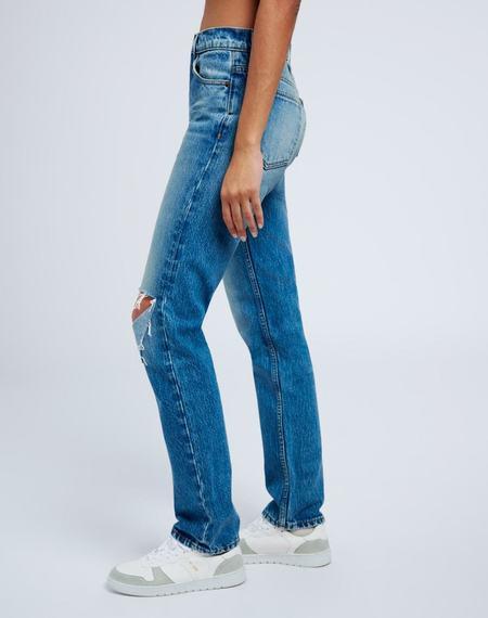 RE/DONE 70s Straight Jean - Daring Indigo