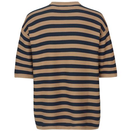 Samsoe Samsoe Leon T-shirt - Caribou Stripe