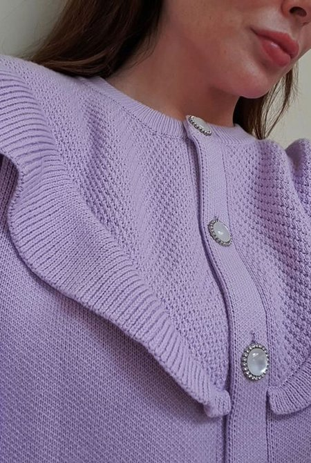 Alice & Blair The Penny Knit - Lilac