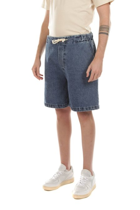 The Silted Company Denim Jeans Short - Blue